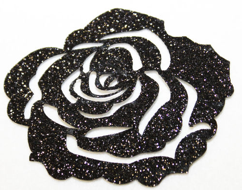 ROSE NOIRE -7-cm-Patch-thermocollant-hotfix-custom