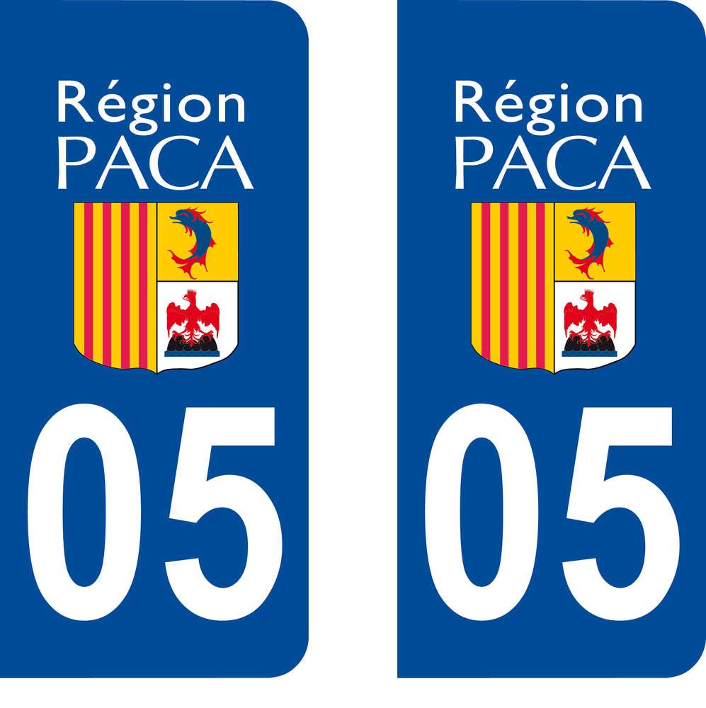 2 Stickers Autocollant style Plaque MOTO d/épartement 37