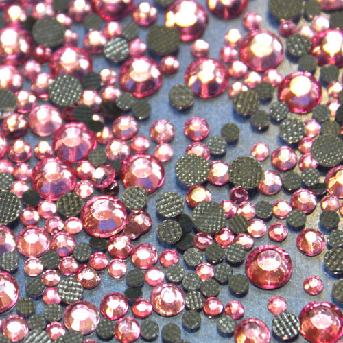 500 Strass s10 hotfix 2,9 mm couleur n°124 rose clair