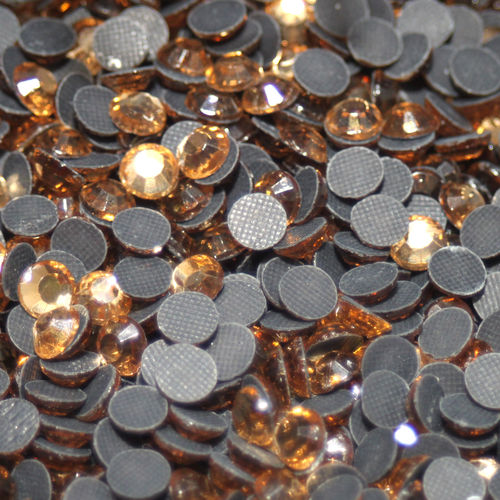 100 Strass s20 hotfix 4,8 mm n°119 champagne