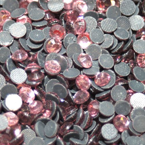 100 Strass s20 hotfix 4,8 mm n°121 rose clair