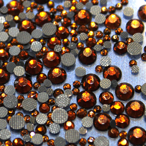 250 Strass s16 hotfix 4,0 mm couleur n°116 brun