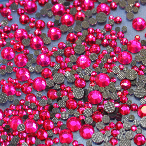 250 Strass s16 hotfix 4,0 mm couleur n°126 rose fuchsia