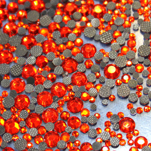 250 Strass s16 hotfix 4,0 mm couleur n°131 orange