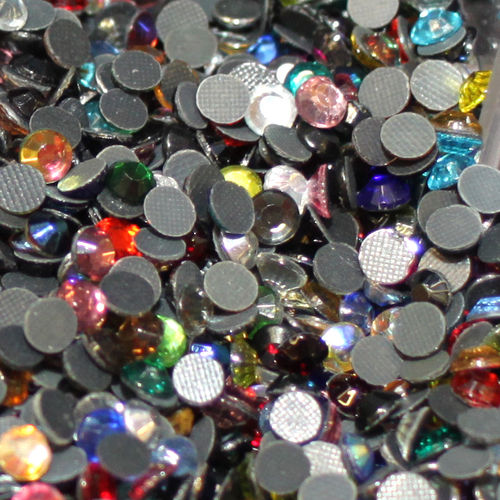 100 Strass s20 hotfix 4,8 mm n°208 multicolor