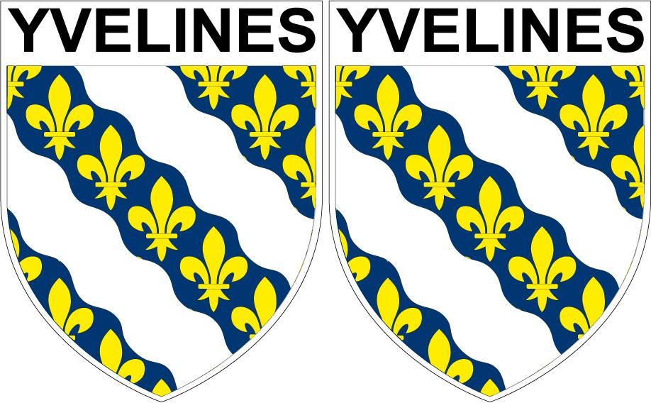 78 Vernouillet blason autocollant plaque stickers ville