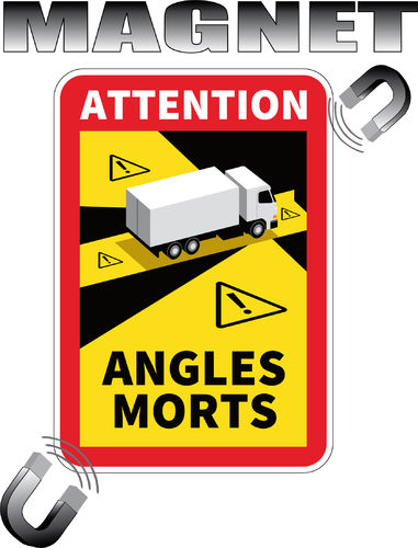 Angles Morts MAGNETIQUE pour CAMION LKW TRUCK